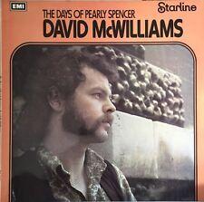 David McWilliams los días de Pearly Spencer Vinilo Lp Original 1971 Reino Unido LP EX