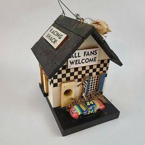 Custom Jeff Gordon #24 Nascar Bird House Racing Shack All Fans Welcome