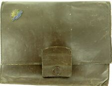 SCARCE WW2 AUSTRALIAN SOLDIERS LEATHER WRITING CASE. SERVICE NO. 53232.