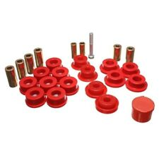 Energy Suspension 2-3108R Control Arm Bushing Set Red Front NEW