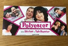 Hollywood Memorabilia JOHN WATERS' 1981 POLYESTER ODORAMA SCRATCH-N-SNIFF CARD