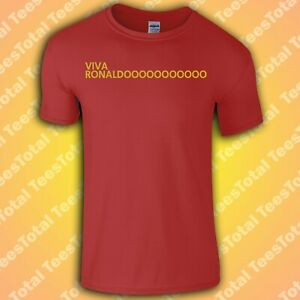 VIVA RONALDO T-Shirt | Cristiano | Ronaldo | Manchester | United