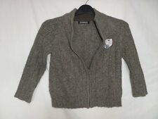 George Kids Unisex Khaki Long Sleeve Knit Sweaters Size 4-5 Years
