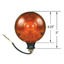 Amber Warning Lamp Light 12 Volt Pl100c Fits Massey Ferguson