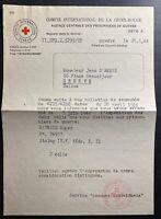 1944 Germany Stalag IVF Censored Red Cross Letter Cover To Geneva Switzerland