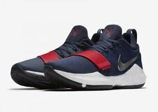 Nike PG1 Mens Size 9 Basketball Shoes Blue 878627 900 Red White blue size 14
