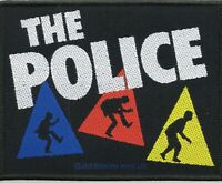 The Police Patch Triangles Woven Patch