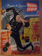 NEUES LEBEN 2/1957 * Brigitte Bardot Diana Dors Heinz Rühmann Akt Speerwurf Mode