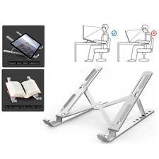 Adjustable Aluminium Laptop Stand Desk Holder Riser for Notebook Tablet New
