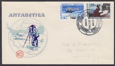 AAT MACQUARIE ISLAND - 1966 20c and 25c Definitives - First Day Cover