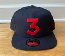 Chance the Rapper New Era 3 Hat Navy and Red - NEW [LAST ONE]