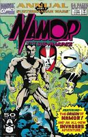 Namor Annual Comic 1 The Sub-Mariner Copper Age First Print 1991 Lobdell Marvel