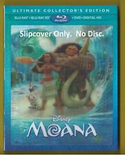 Disney Moana Lenticular SLIPCOVER ONLY fits blu-ray case