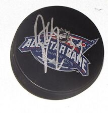 DUSTIN BYFUGLIEN Signed 2015 NHL ALL-STAR GAME HOCKEY PUCK! JETS AUTO 1005381