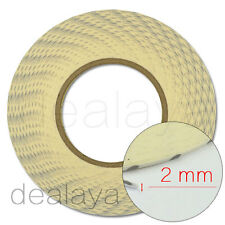 2mm White Glue Double Sided 3M Adhesive Tape Sticker For Mobile Phone Screens