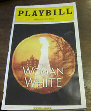 The Woman in White Playbill December 2005 Broadway memorabilia