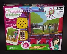 K'Nex Mighty Makers Director's Cut Building Set - 308 Pieces - Ages 7+ New
