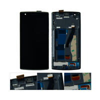 HOT For Oneplus One 1 A0001 LCD Screen Touch Digitizer With Frame Replacement