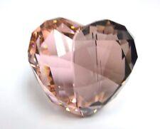 Swarovski 1096730 Kakadu Love Heart Figurine Red Color in Kakadured Crystals