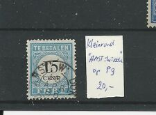 "kleinrond ""AMST:W:DOK 16-apr-1886"" op P9  VFU/GEBR  CV 20 €"