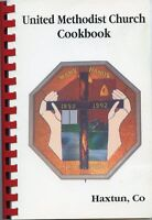 United Methodist Church Cookbook-Haxtun Colorado-Cooking-Recipes