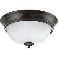 """Sea Gull Heirloom Bronze 12.5"""" Flushmount Ceiling 2 Bulb Light 7505-782 - 6 Pack"""