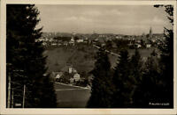 Freudenstadt Schwarzwald Postkarte ~1930/40 Gesamtansicht Panorama vom Wald aus