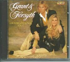GRANT & FORSYTH Country Love Songs Vol 3 DUTCH DINO CD GUYS & DOLLS