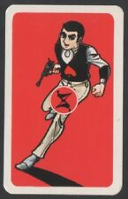 Playing Swap Cards 1 Japanese 70's Red Man Anime 'TV Series' 3/4 Size J22
