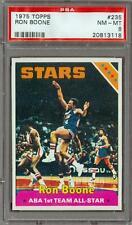 1975 Topps Ron Boone #235 PSA 8 Utah Stars Jazz Lakers