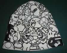 Official Nintendo - SUPER MARIO BEANIE -  Winter Knit Hat, Ski Hat,  Skull Cap