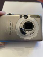 Canon PowerShot Digital ELPH SD600 6.0MP Digital Camera