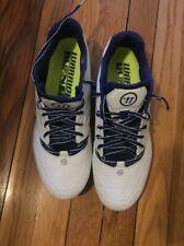 New Warrior Men's Burn 8.0 Mid Lacrosse Cleats Burn8Lpb Shoes Size 10 D