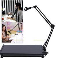 Flexible Studio Desk Mount Clip Mic Microphone Suspension Boom Scissor Arm Stand
