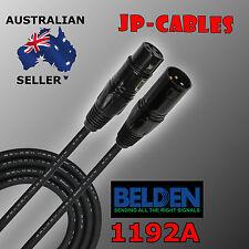 5m - Belden Brilliance 1192A, Premium Quad XLR Microphone Cable - Made in U.S.A