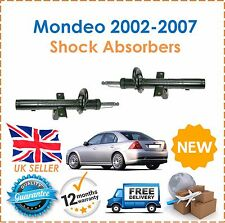 For Ford Mondeo MK3 2002-2007 2 Rear Shock Absorbers Pair Shockers Dampers New