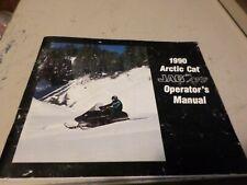 Vintage 1990 Arctic Cat Jag AFS Snowmobile Operators Manual 45 page book