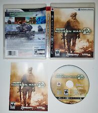 Call of Duty Modern Warfare 2 (Playstation 3 PS3, Blu-ray) COMPLETE ORIGINAL