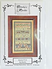 Milady's Needle Beauty From My Needle Counted Cross Stitch Chart