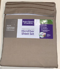 Better Homes and Gardens Wrinkle Resistant Microfiber Sheet Set Queen Ultra Soft