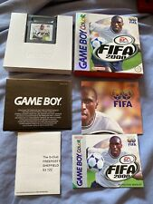 Gameboy Color FIFA 2000 Boxed With Leaflets.