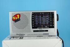 NEW Borg Johnson HS-912R World-Wide Radio, FM/TV/MW (AM)/SW1-9 12 Band Receiver