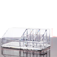 Transparent Acrylic Makeup Cosmetics Organizer Lipstick Brush Stand Holder Case