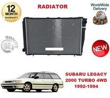 Para Subaru Legacy 2000 Turbo 4WD + Super 1992-1994 Nueva Unidad De Radiador