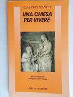Una chiesa per vivereDianich severinoPaoline1990teologia vangelo bibbia 82