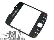 Original Blackberry 8520 Glas Cover Gehäuse Display Scheibe black schwarz