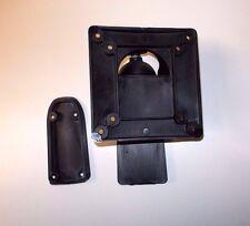 Caravan motorhome pivoting wall mounted TV support black bracket  LTVB2
