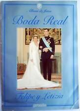 Album de fotos Boda Real Felipe y Letizia. Revista Pronto. Completo