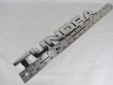 07-13 TOYOTA TUNDRA TAILGATE EMBLEM BACK OEM CHROME BADGE sign symbol logo name