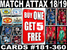 TOPPS MATCH ATTAX 2018/2019 18/19 EPL ☆ FOOTBALL CARDS ☆ BUY 1 GET 5 FREE!!